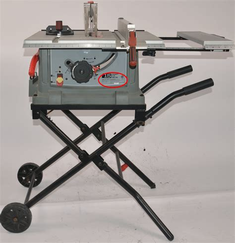Craftsman Portable Table Saws Recalled