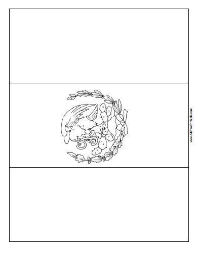 mexican flag coloring page coloring page mexican flag