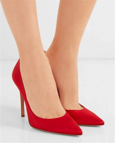 Point Toe Pumps gianvito satin point toe pumps shoes post