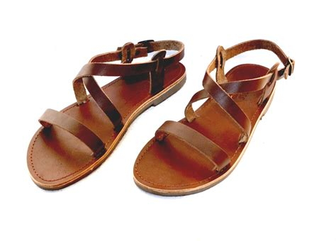 Handmade Sandals Greece - handmade grecian leather sandals new style