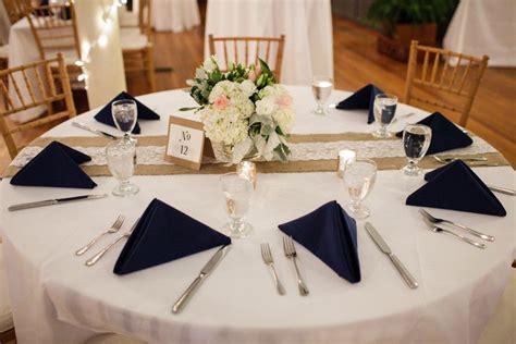 25  best ideas about Navy burlap wedding on Pinterest