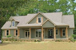 One Story Farmhouse Plans Country Style House Plan 4 Beds 3 Baths 2456 Sq Ft Plan