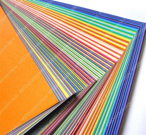 colorful paper rainbow color colorful 40 mixed color origami paper 120