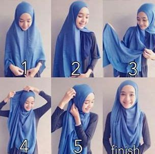 tutorial jilbab syar i menutup dada 1000 ideas about tutorial hijab modern on pinterest