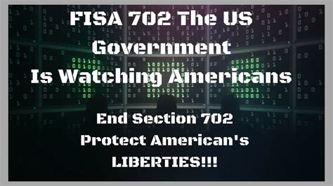 section 702 of fisa fisa 702 was not fixed senate may filibuster