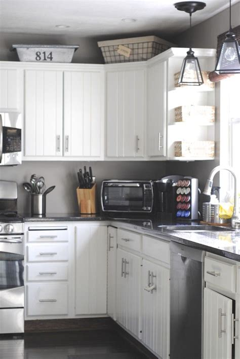 baskets on top of kitchen cabinets 10 ways to update your kitchen on a dime like the