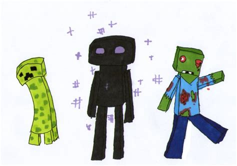 all minecraft mobs drawings minecraft more mobs by lava1o on deviantart