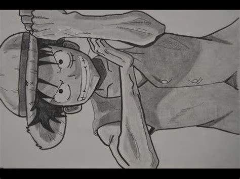imagenes para dibujar a lapiz de one piece dibujando a luffy one piece youtube