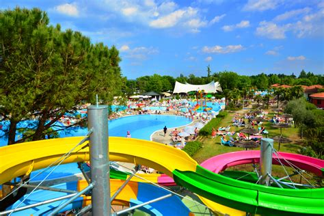 park with water csite with water park at lake garda with swimming pools and water parks in
