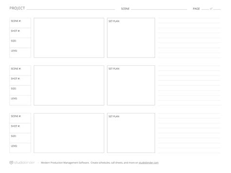 download these 7 storyboard templates for free from