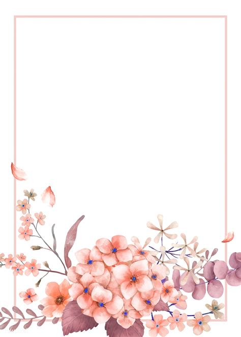card  pink  floral theme royalty  stock vector