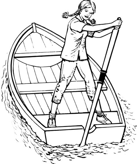 houseboat outline row boat clip art katy perry buzz