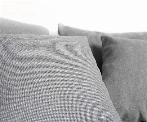 eckcouch ottomane rechts eckcouch clovis grau flachgewebe mit armlehne ottomane