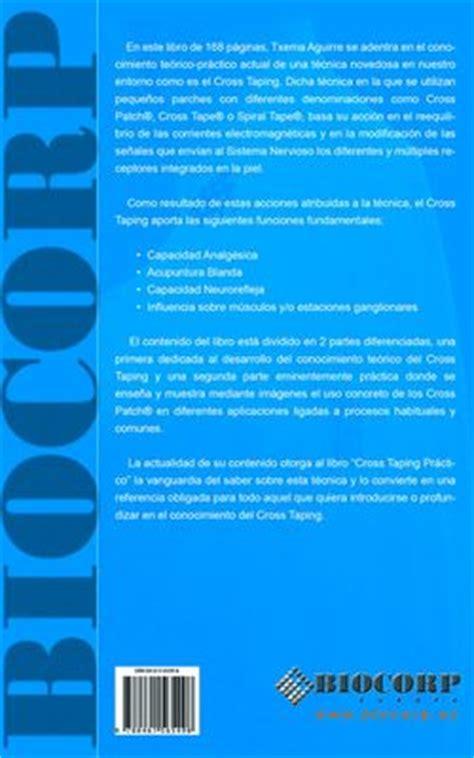 libro cross cross cross taping practico biolaster