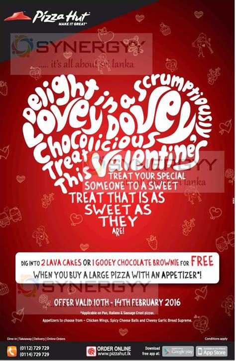 pizza hut valentines valentine s day pizza hut promotion 171 synergyy