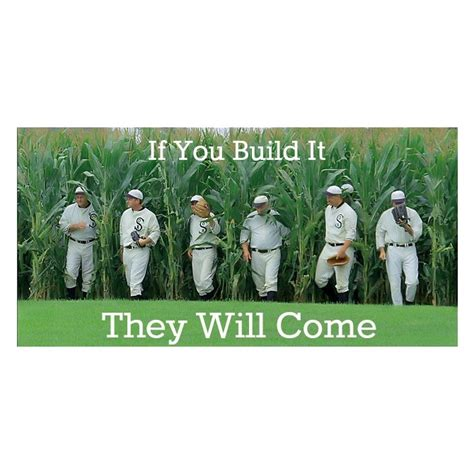 you build it homes if you build it they will come 5 box baseball mixer