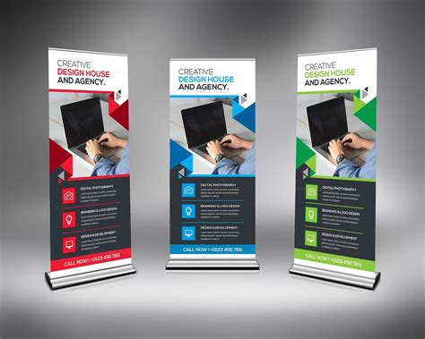 templates for roll up banners corporate rollup banner template 000348 template catalog