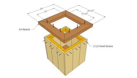 wooden planter plans diy planter designs wood plans free