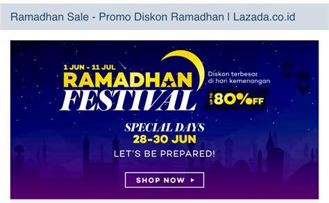 Promo Ramadhan Anidya Tunik Termurah sambut ramadhan lazada indonesia hadirkan pesta diskon sebulan penuh