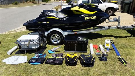 Jetski Fishing Rack For Sale by Seadoo Rxp X 260 Rs For Sale With Fishing Racks And Extras