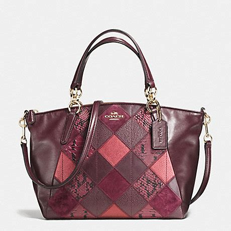 Coachs Colorful New Patchwork Satchel by Coach F56848 Small Kelsey Satchel In Metallic Patchwork