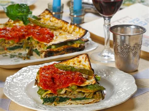 Passover Kitchen by Vegetable Matzo Pie Italian Passover Recipe