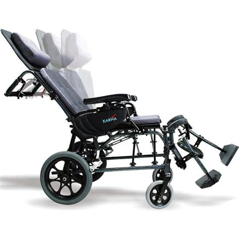 used reclining wheelchair for sale karman ergonomic ultra lightweight reclining transport