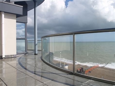Stair Banisters Curved Glass Balustrades Glass Balustrades