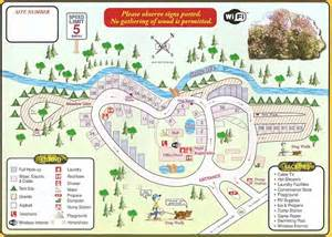 glenyan rv park cground map