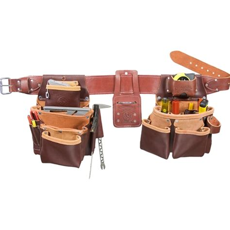 occidental leather 5089 xl xl seven bag framer tool belt