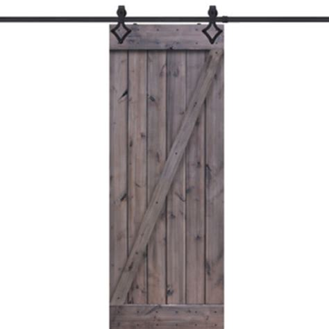 Z Barn Door Glasscraft Z Barn Door Knotty Alder Z Barn Door