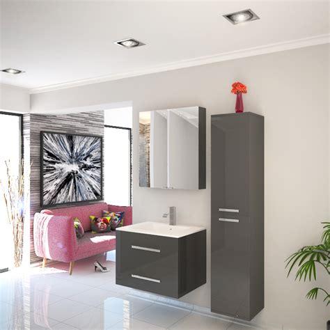 bathroom furniture suites sonix bathroom furniture vanity suite grey buy at