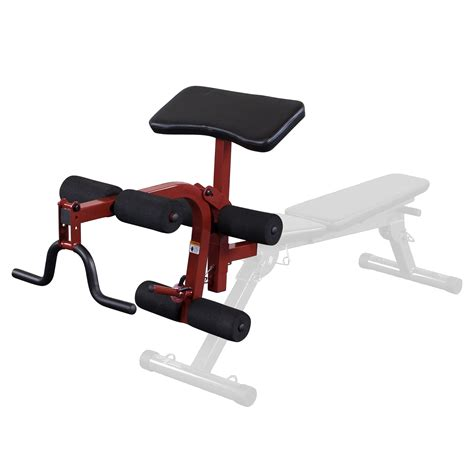 weight bench leg attachment best fitness leg and preacher attachment for bffid10