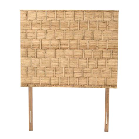 Padma S Plantation Rattan Weave Headboard For Queen Size