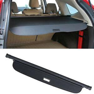 honda crv cargo cover retractable black rear trunk luggage shade ebay