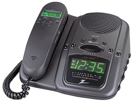Bedroom Cordless Phone With Alarm Clock Electronics Store Products Telephones Corded