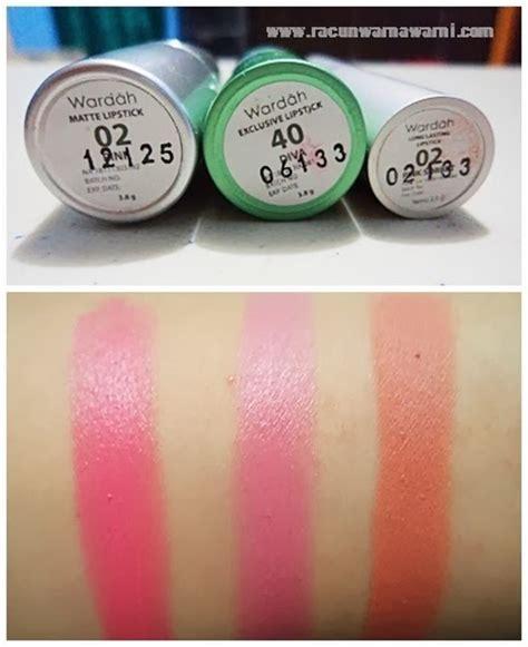 Lipstik Glossy Wardah racun warna warni wardah lipstick matte exclusive