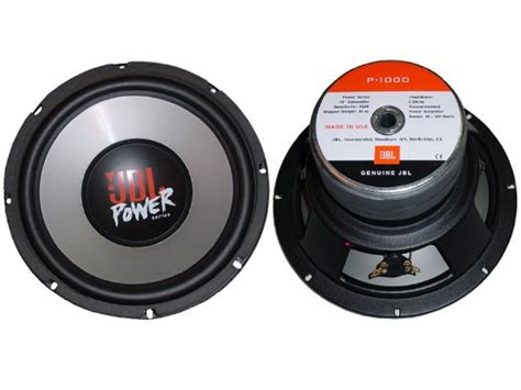Portable Speaker 10 Inch Model Jbl Dan Power Mixer Cr 410p jbl power series 10 quot 250 mm high excursion 300w subwoofer p 1000 brand new ebay