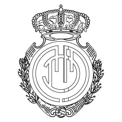 escudo del madrid para colorear az dibujos para colorear dibujo del escudo del real madrid para colorear car