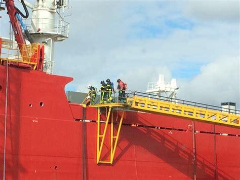 schip brand brand op schip bij ihc kinderdijk zhzactueel