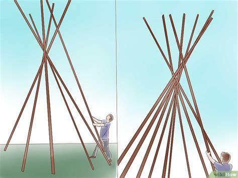come costruire una tenda indiana come costruire una tenda indiana tepee 15 passaggi