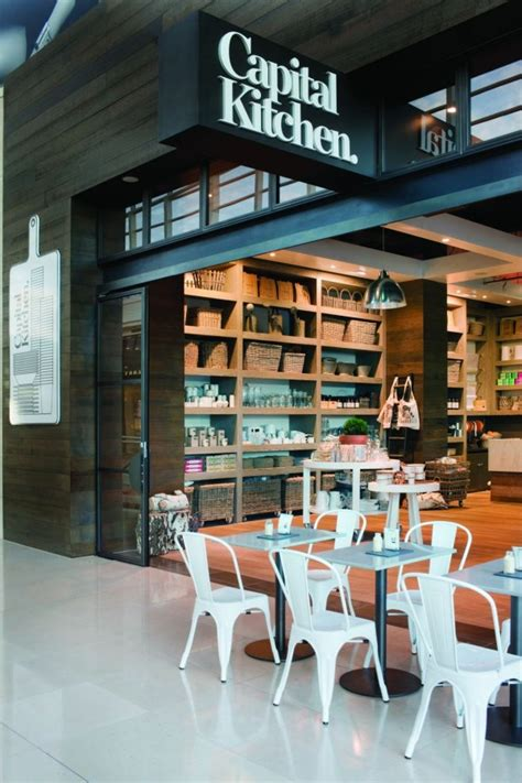 cafe kitchen design clean and modern cafe with home style design capital