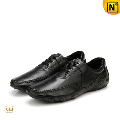 black leather loafer shoes mens black leather driving loafer shoes cwmalls