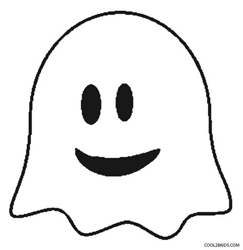 ghost face coloring page printable ghost coloring pages for kids cool2bkids