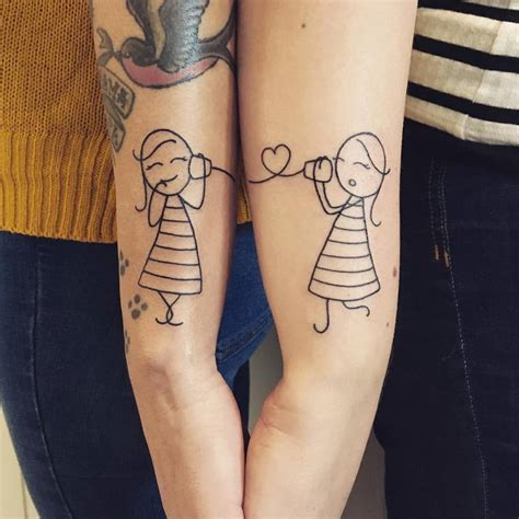 70 popular best friend tattoo ideas that show a strong bond