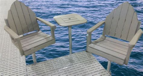boat dock table and chairs marine dock and lift boat docks boat lifts center city