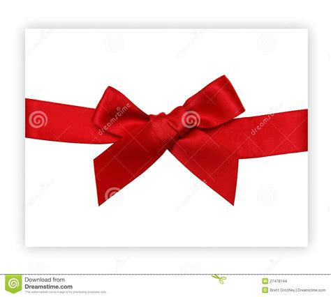 red gift ribbon bow stock images image