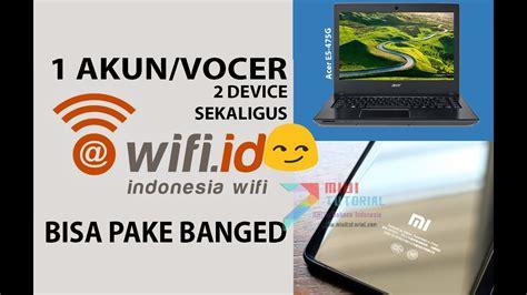 Vocer Wifi Id cara licik 1 akun wifi id bisa jalan di 2 perangkat sekaligus xiaomi dan laptop acer e5 475g