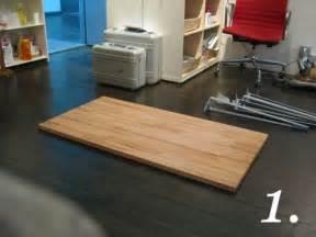 Diy Countertop Computer Desk Great Diy Desks With Ikea Countertops And Legs Apartment
