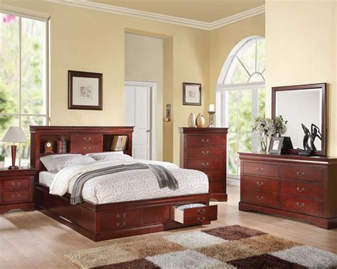 louis philippe bedroom set acme bedroom set louis philippe iii ac24380set
